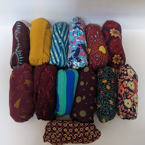 LuLaRoe Pants - LulaRoe Lot 13 Leggings Floral Aztec Geometric NWT
